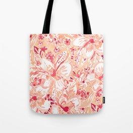 HIYA HIBISCUS Tropical Floral Tote Bag