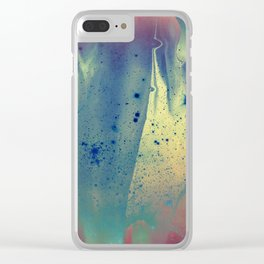 Route to the Stars Clear iPhone Case