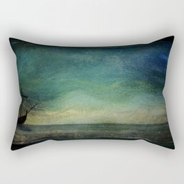 Ship on Ocean Rectangular Pillow
