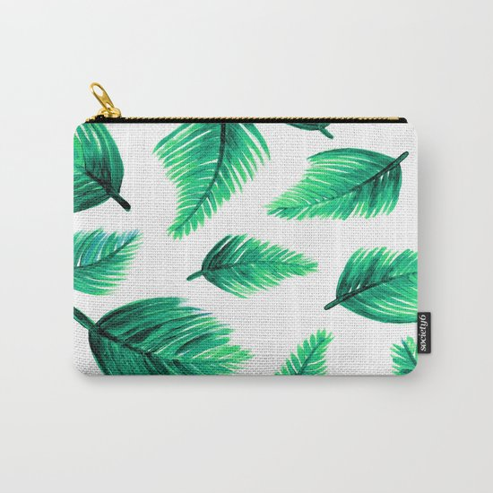 minimalist pattern Carry-All Pouch