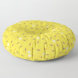 Brux & Boggle #1: Rat Sprinkles (banana) Floor Pillow