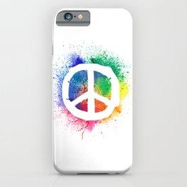 Peace Sign World Peace Peace Symbol Peace iPhone Case