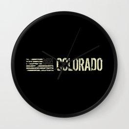 Black Flag: Colorado Wall Clock