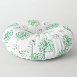 PATTERN II Succulent Life Floor Pillow
