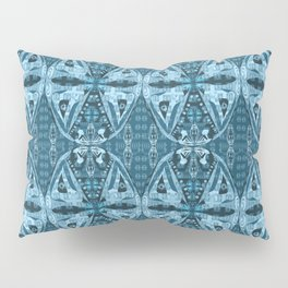 Haida Mask: Digital Quilt Design Pillow Sham