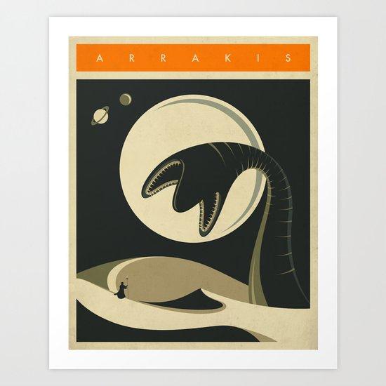 ARRAKIS Art Print
