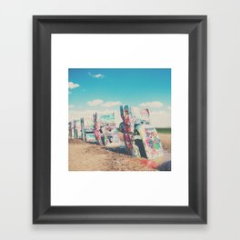 Cadillac Ranch ... Framed Art Print