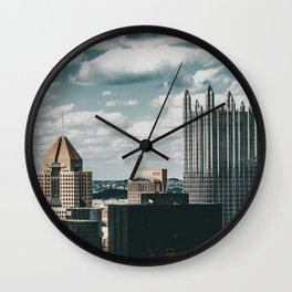 PGH #1 Wall Clock