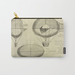 Mathieu's Airship Project Carry-All Pouch