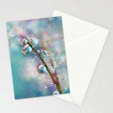 Rainbow Blue Smokey Drops Stationery Cards