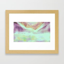 Our last hurrah. And when they found our shadows. Framed Art Print