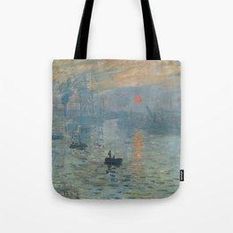 Impression, Sunrise, Claude Monet, 1872 Tote Bag