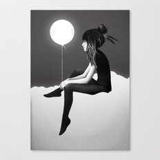 No Such Thing As Nothing (By Night) Canvas Print