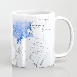 NUDEGRAFIA - 17  I am hope Coffee Mug