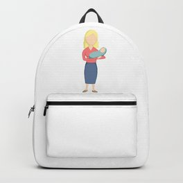 Woman and Child Backpack