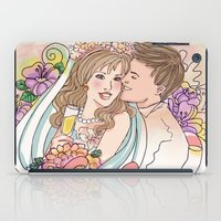 wedding iPad Cases featuring Wedding by Andreia Treptow Illustrations