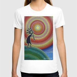 """Painting """"The Song of Kokopelli"""" T-shirt"""