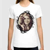 thundercats T-shirts featuring Mary Pickford - Vintage Lady with kitten by Augustinet
