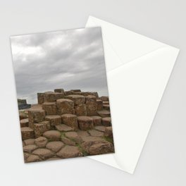 Giant's Causeway stones Stationery Cards