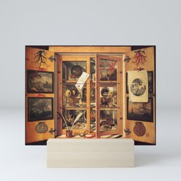 Cabinet of Curiosities Mini Art Print