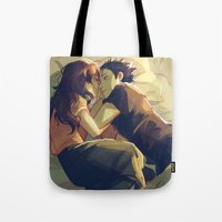 viria Tote Bags featuring I hear your voice by viria
