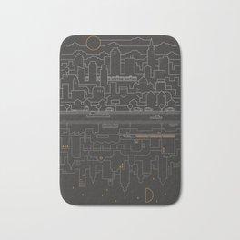 City 24 Bath Mat