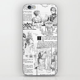 Pride and Prejudice - Pages iPhone Skin