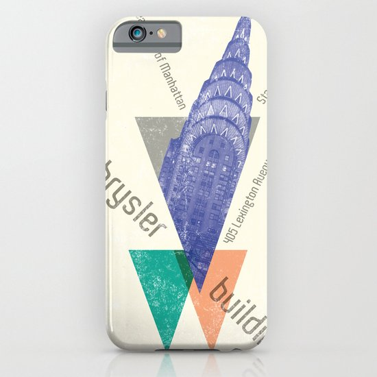 chysler building iPhone & iPod Case