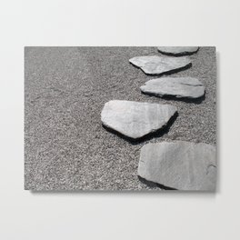 Mindful path Metal Print