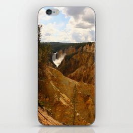 Thundering Waters Of The Yellowstone River iPhone Skin