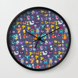 Pocket Collection 2 Wall Clock