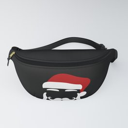 Hipster Santa Claus With Sunglasses Funny Gift for Christmas Fanny Pack