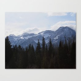 Timpanogos in Winter Canvas Print