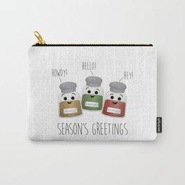 Season's Greetings | Garlic, Oregano & Paprika Carry-All Pouch