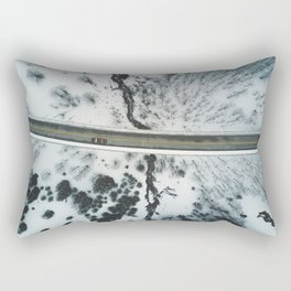 Aerial Shot Rectangular Pillow