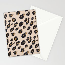 B&B Leopard Design Stationery Cards