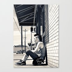 South Tacoma Skater  Canvas Print