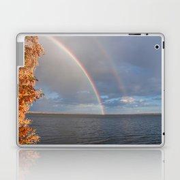 Double Rainbow Laptop & iPad Skin