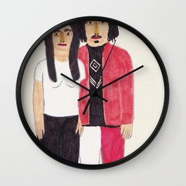 The White Stripes Wall Clock