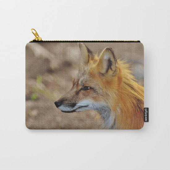 Inquisitive Mr. Fox Carry-All Pouch