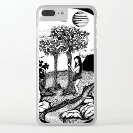 The Garden - Black Clear iPhone Case