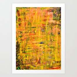 abstraction untitled  Art Print