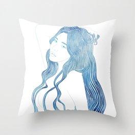 Nereid XLVIII Throw Pillow