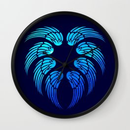Angel Heart Wall Clock