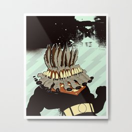 Super Genius Experiment  1 Metal Print