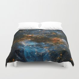 Galaxy Storm Duvet Cover