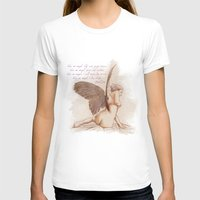 angel wings T-shirts featuring Angel by chiaratexx