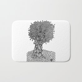 Gnarled Tree Bath Mat