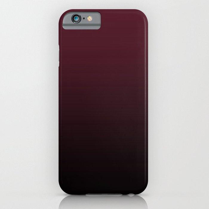 burgundy wine ombre gradient iphone case