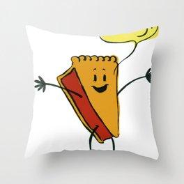 Easy as Pie! Throw Pillow